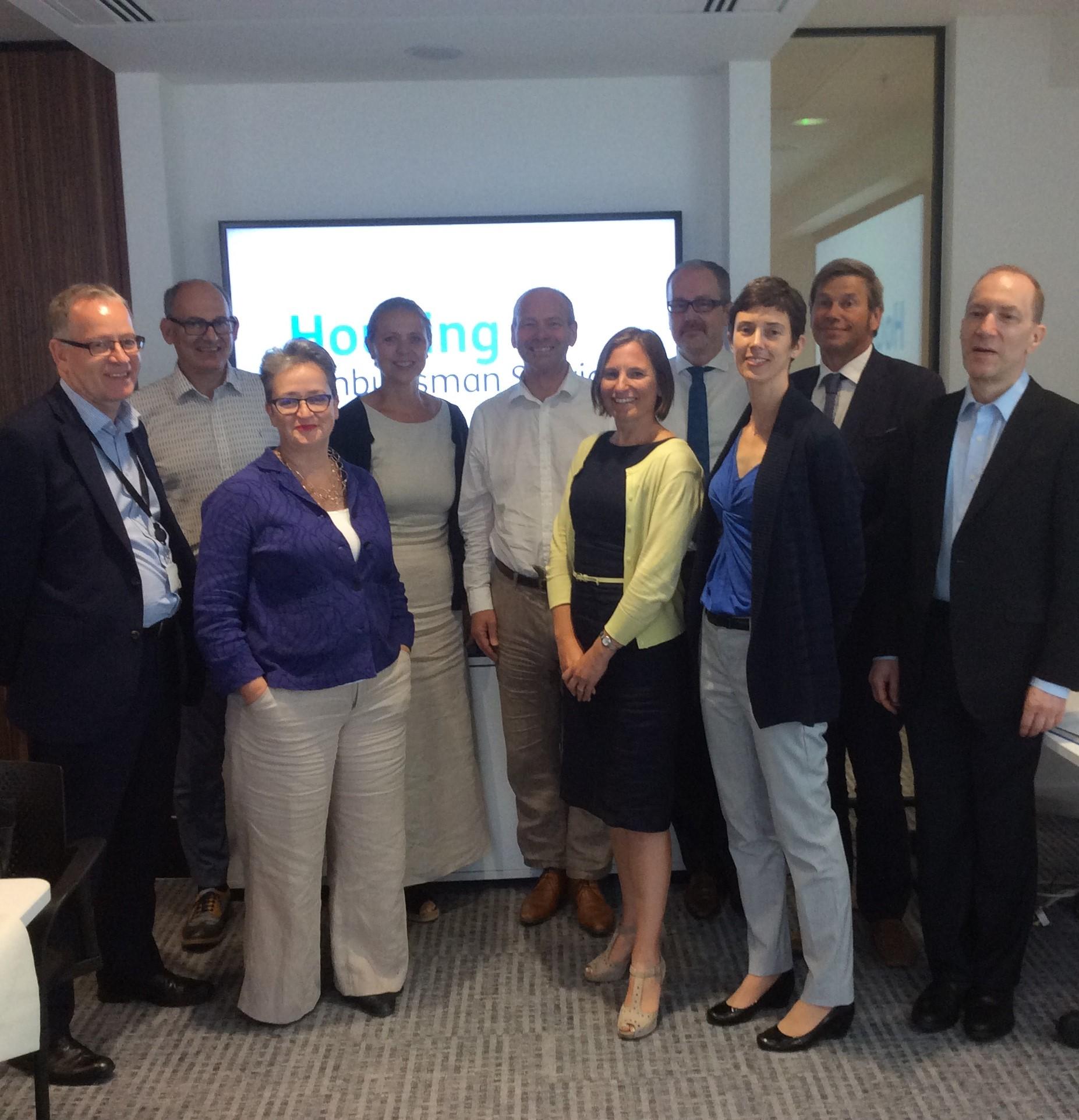 Panel of advisors group photo