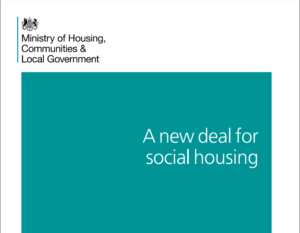 Social housing green paper cover shot