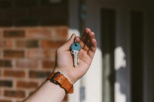 daylight-door house keys