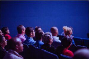 people attending meeting