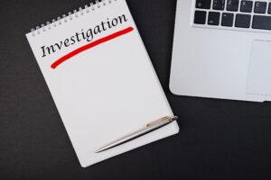 Investigation note pad
