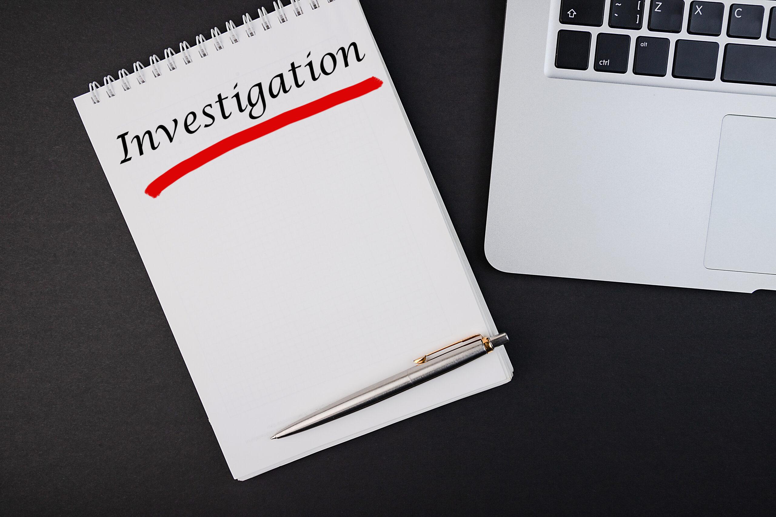 Case investigations